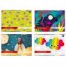 Zeszyt papierów kolorowych samoprzylepnych B4/8 kartek (80126)